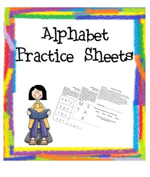 Reading Bag Alphabet & Sounds Practice