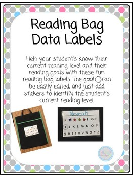 Reading Bag Data Labels