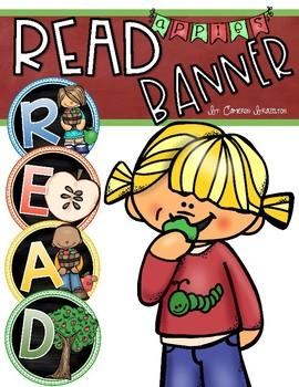 Reading Banner Classroom Decoration Bulletin Board Apple Theme
