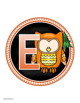 Reading Banner Classroom Decoration Bulletin Board Owl Theme
