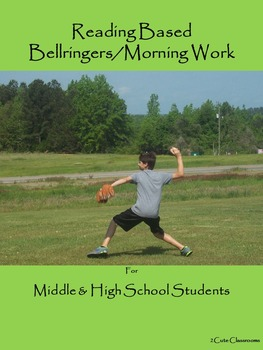 Bellringers for Middle & High School Students Freebie: Reading Based