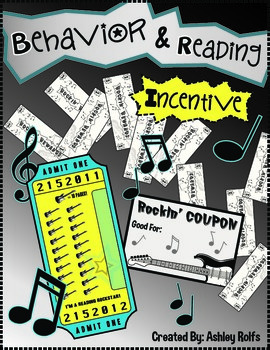 Reading & Behavior Rockstar Incentive
