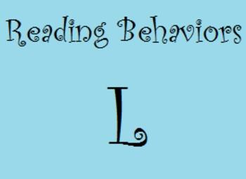 Reading Behaviors Level L