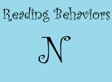 Reading Behaviors Level N