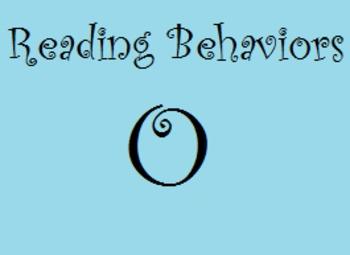 Reading Behaviors Level O
