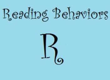 Reading Behaviors Level R