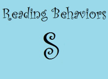 Reading Behaviors Level S&T