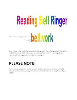 Reading Bell Ringer