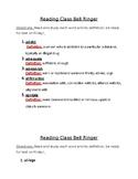 Reading Bell Ringer II