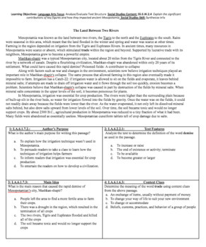 Reading in Social Studies Bellwork: Mesopotamia- SS.6.W.2.4 {History Guru}