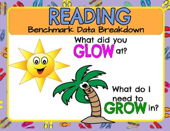 Reading  Benchmark Data Breakdown Digital and Printable Versions Any Grade Level