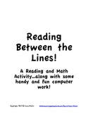 Reading Between the Lines - A Graphing Activity