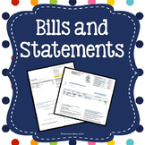 Reading Bills and Statements