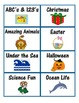 Reading Bin or Basket Labels - Organize your reading center