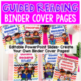 Reading Binder Cover Pages