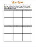 Reading Binder Daily Assignments & Activities