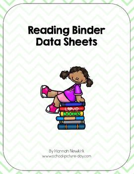 Reading Binder Data Sheets