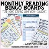 Reading Bingo Cards