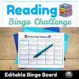 Reading Bingo Challenge: Great for Read Across America!