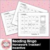 Reading Bingo Homework Tracker Incentive