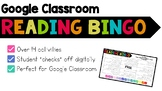 Reading Bingo for Google Classroom {Reading Activities to