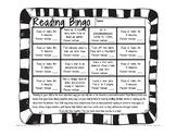 Reading Bingo for Primary Grades