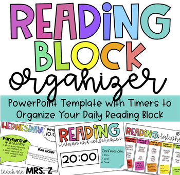 Reading Block Organizer with Timers