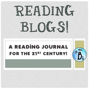 Reading Blog - A Reading Journal for the 21st Century {CCSS Aligned}