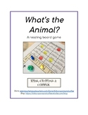Reading Board Game: What's the Animal?