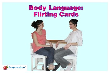 Reading Body Language - Flirting Cards