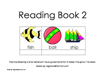 Reading Book 2 (Autism, Special Needs, Early Years)