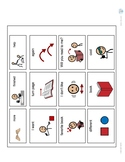 Reading Book AAC/Communication Board