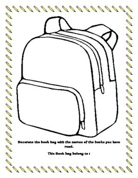"""Reading """"Book Bag"""" Project"""