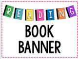 Reading Book Banner