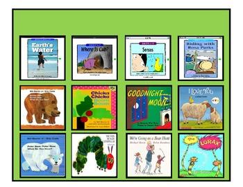 Reading Book Choice Board for Autism