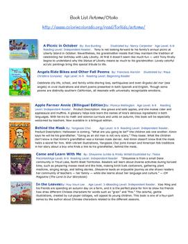 Reading Book List