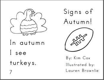 Reading Book: Signs of Autumn