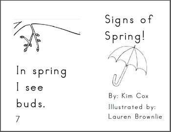 Reading Book: Signs of Spring
