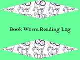 Reading Book Worm Log