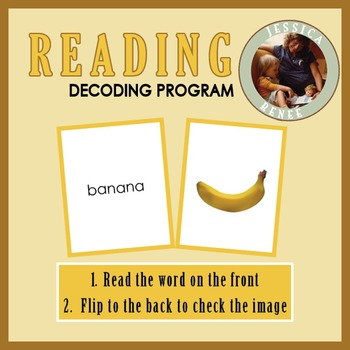 Decoding Phonics: Reading Booklets Only