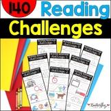 Reading Bookmark Challenge   Reading Incentive BUNDLE
