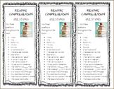 Reading Bookmark- English and Spanish