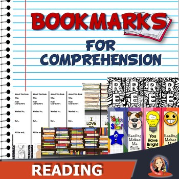 Reading Bookmark Ideas for Classrooms and Libraries