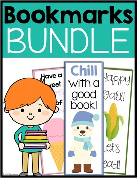 Reading Bookmarks Bundle