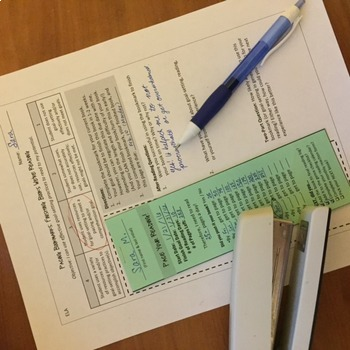 Reading Bookmarks: DURING Reading Tools for Secondary ELA