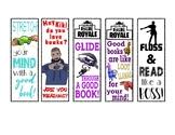 Reading Bookmarks-Fortnite, Drake, Slime, and Floss Dancing!