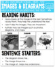 Reading Bookmarks & Reading Focus Posters {2nd-3rd Grade}