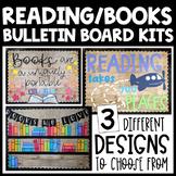 Reading/Books Bulletin Board Kit or Reading Wall Classroom Decor