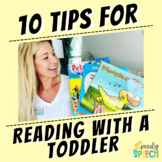 Reading Books With Toddlers Parent Handout
