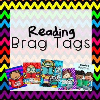 Reading Brag Tags - GROWING BUNDLE